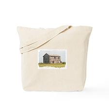 Dilapidated barn, Montana Tote Bag