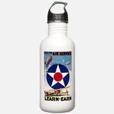Join the Air Service Learn-Earn WWI Water Bottle