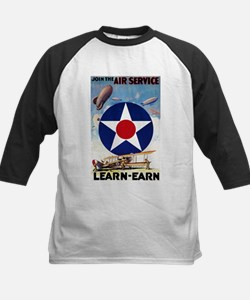 Join the Air Service Learn-Earn WWI Baseball Jerse