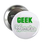 geek Wannabe Button