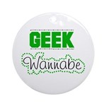 geek Wannabe Keepsake (Round)