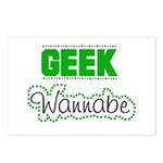 geek Wannabe Postcards (Package of 8)