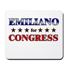 EMILIANO for congress Mousepad