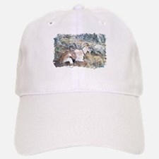Brown pack-goat, Wyoming Baseball Baseball Cap