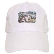 Brown pack-goat, Wyoming Baseball Cap