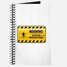 Warning Beekeeper Journal