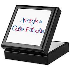 Avery's a Cutie Patootie Keepsake Box