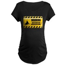 Warning Battleship Fan T-Shirt