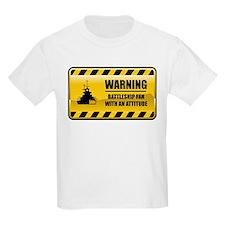 Warning Battleship Fan T-Shirt
