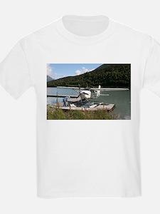 Float plane, Trail Lake, Alaska 2 T-Shirt