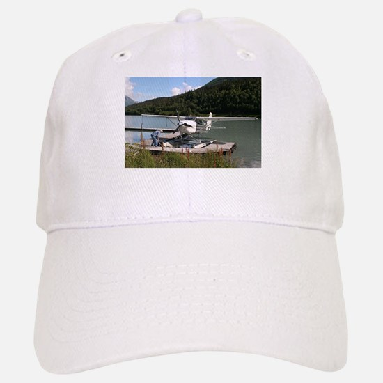 Float plane, Trail Lake, Alaska 2 Baseball Baseball Cap