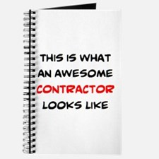 awesome contractor Journal