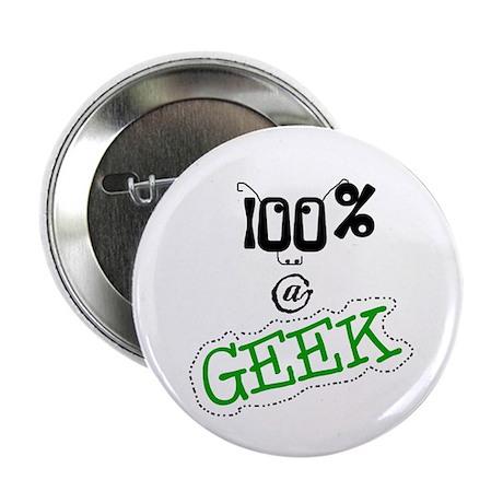 100 % a Geek Button