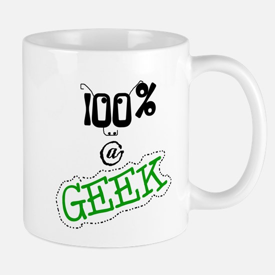 100 % a Geek Mug