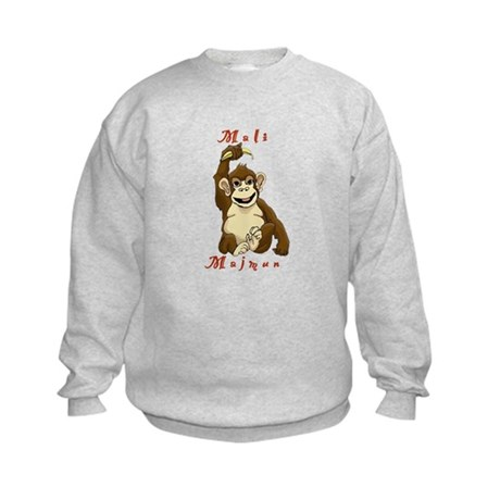 Mali Majmun Kids Sweatshirt