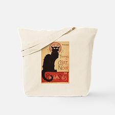 Chat Noir Cabaret Troupe Black Cat Tote Bag