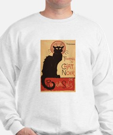 Chat Noir Cabaret Troupe Black Cat Sweatshirt