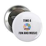 "SPRING BREAK RAINBOW CD 2.25"" Button (100 pack)"