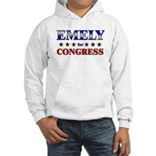 EMELY for congress Hoodie Sweatshirt