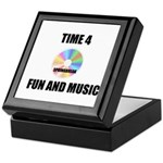 SPRING BREAK RAINBOW CD Keepsake Box