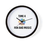 SPRING BREAK RAINBOW CD Wall Clock