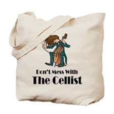 Cello Attitude Tote Bag
