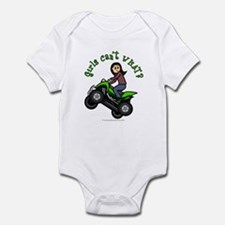 Light Four-Wheeler Infant Bodysuit