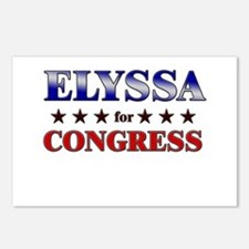 ELYSSA for congress Postcards (Package of 8)