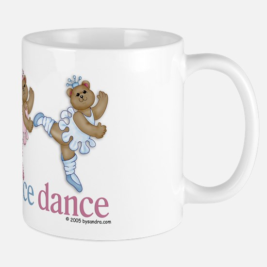 3 Teddy Bear Dancers Mug