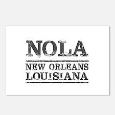 NOLA New Orleans Vintage Postcards (Package of 8)