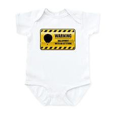 Warning Balloonist Infant Bodysuit