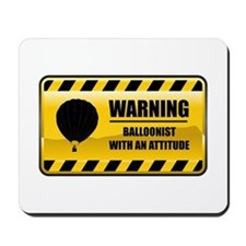 Warning Balloonist Mousepad
