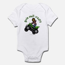 Dark Four-Wheeler Infant Bodysuit
