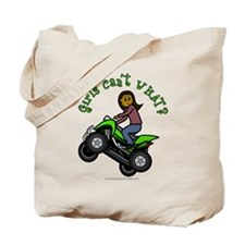 Dark Four-Wheeler Tote Bag