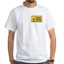 Warning Bagpipe Player Shirt