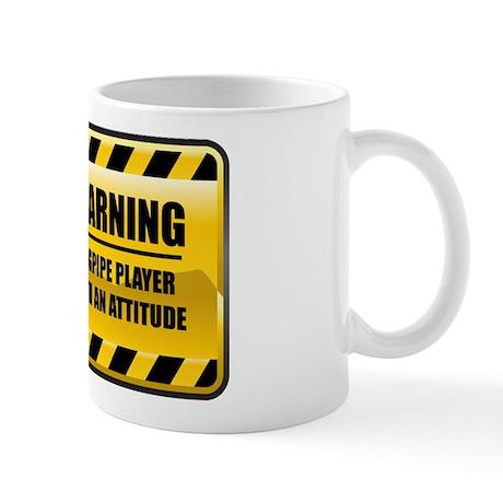 Warning Bagpipe Player Mug