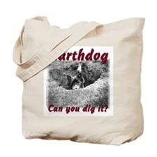 Earthdog Tote Bag