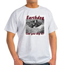 Earthdog Ash Grey T-Shirt