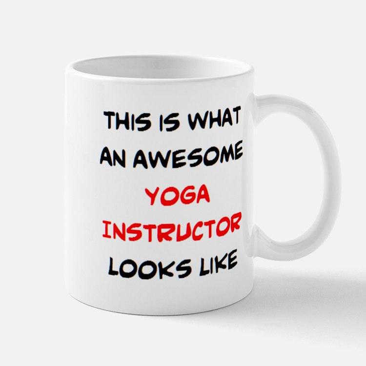 awesome yoga nstructor Mug