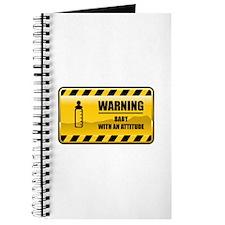Warning Baby Journal