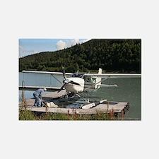 Float plane, Trail Lake, Alaska 2 Magnets