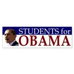 Students for Obama (bumper sticker)