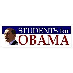 Students for Obama (bumper sticker)