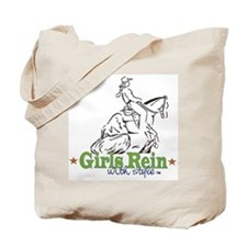 Girls Rein with style Tote Bag