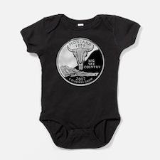 Cute Montana Baby Bodysuit