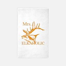 Mrs Elkaholic 2 Area Rug