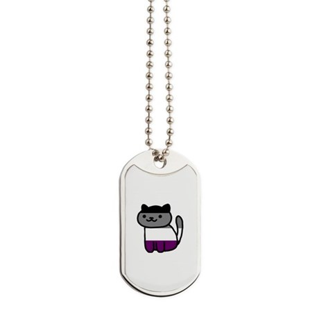 Ace Kitty Dog Tags