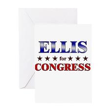 ELLIS for congress Greeting Card