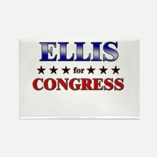ELLIS for congress Rectangle Magnet