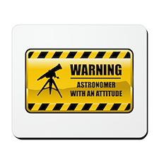 Warning Astronomer Mousepad